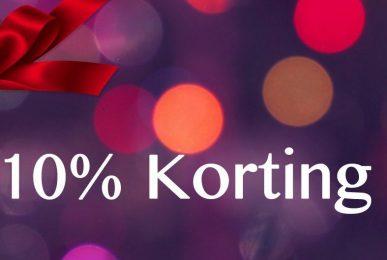 korting danswinkel 10%