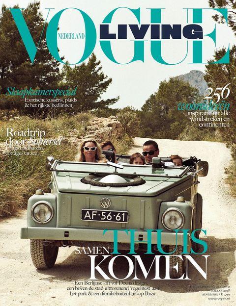 Vogue Living najaar 2018 bruikleen danskleding