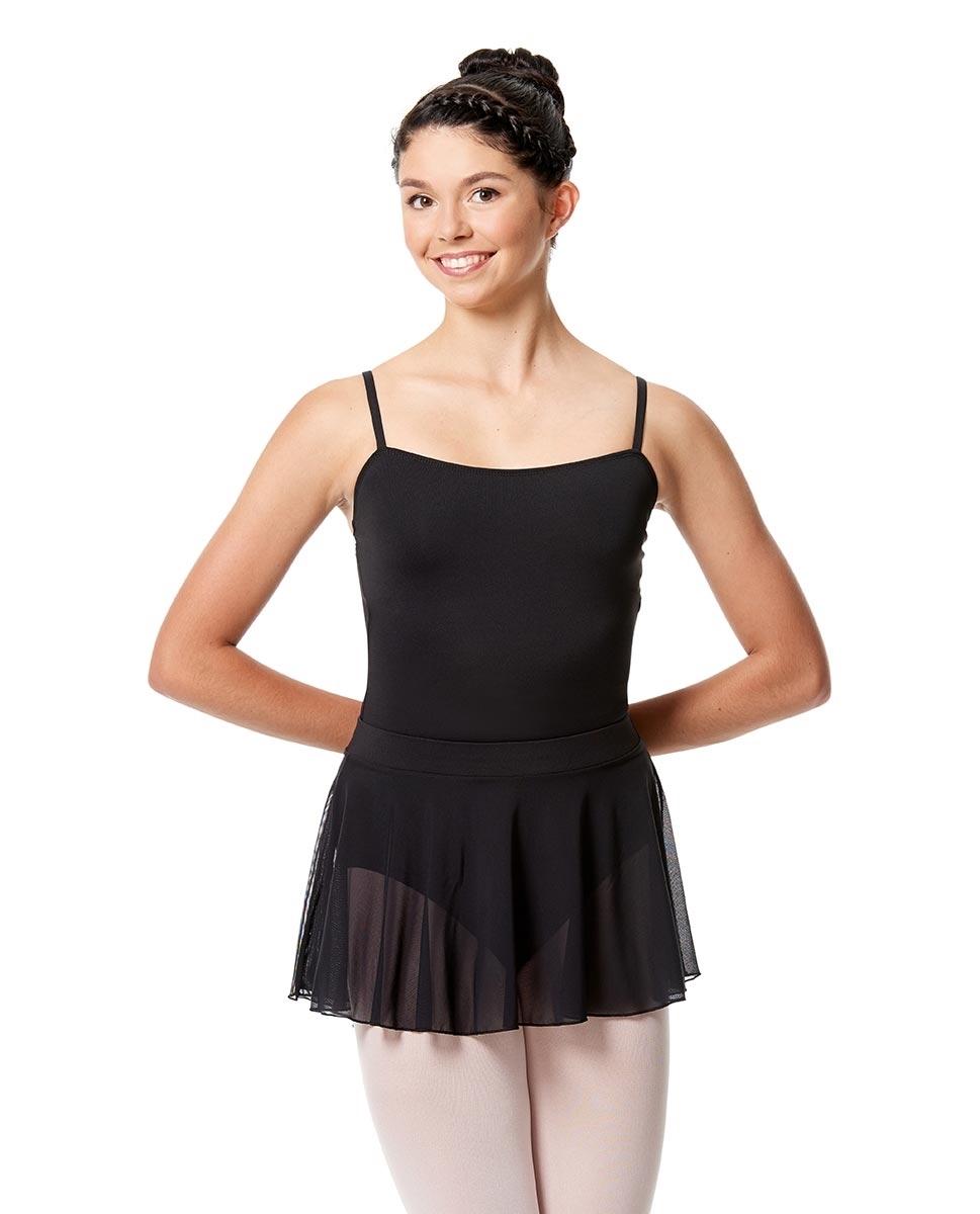 LUB270-mesh-skirt-with-wide-elastic-waist-band.-