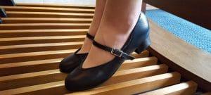 schoenen voor organisten