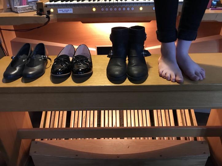 verschillende orgel schoenen kopen